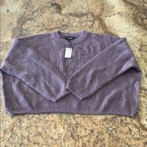 Brand new Express cropped sweater